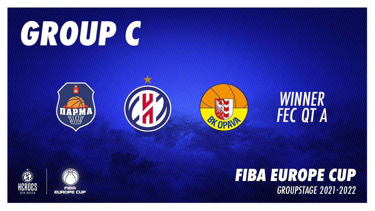 FIBA Europe Cup Groupstage 2122 Tw