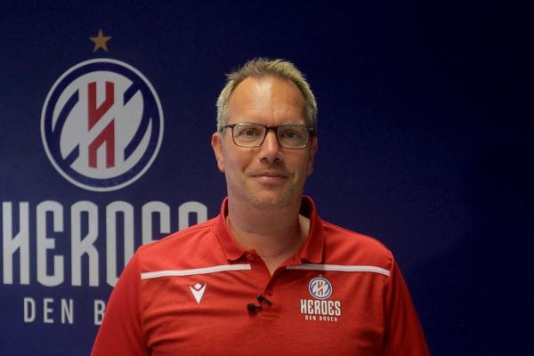 Erik Braal head coach Heroes Den Bosch